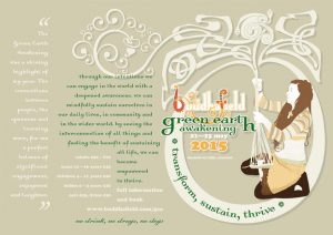 Buddhafield Green Earth Awakening Camp 2015, A4 landscape