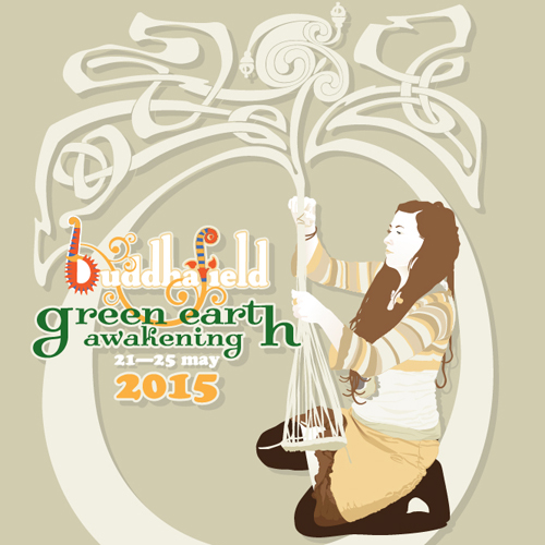 Vector illustration for the Buddhafield GEA 2015