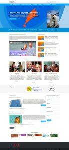 Homepage screen capture, Seed of Peace website